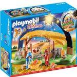 Portal de Belén Playmobil con luces destacada