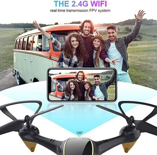 Drone con cámara HD + 2 baterias post