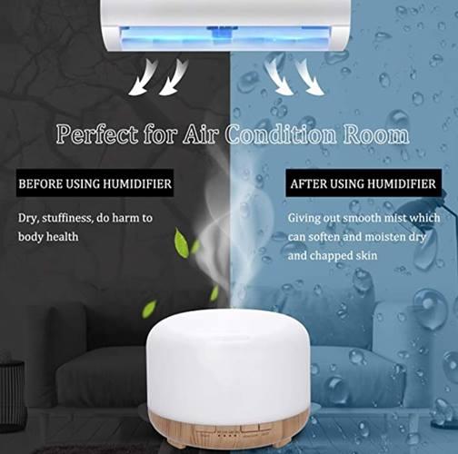 Humidificador de aire LED