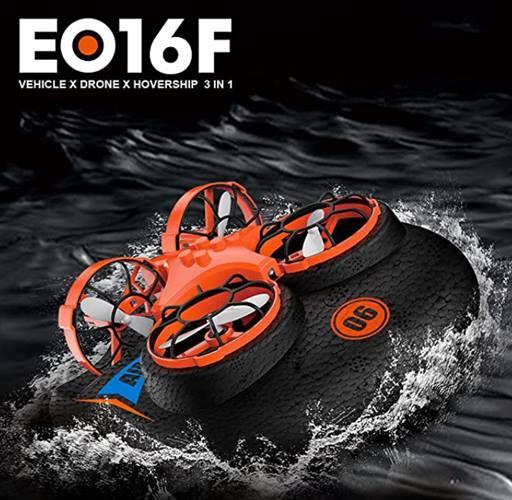 Mini drone con base para Hovercraft post