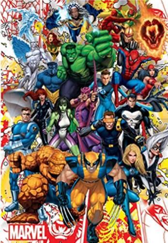Puzzle Marvel 500 piezas